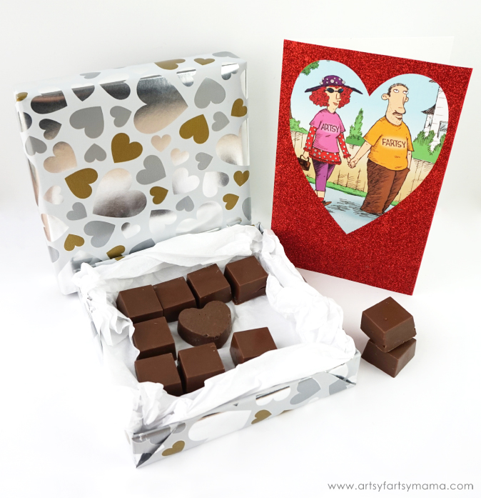 Combine American Greetings cards with a DIY Valentine Box of Chocolates for a sweet Valentine gift! #MyTuesdayValentine