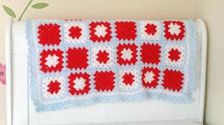 granny square blankets