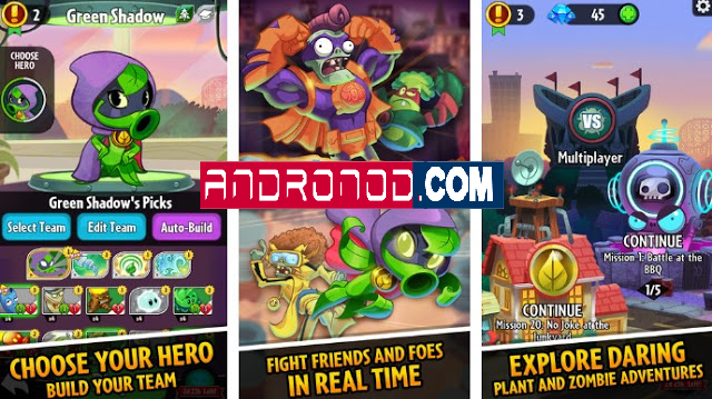 Plants vs Zombies Heroes v1.8.26 Mod Apk [PVZ]