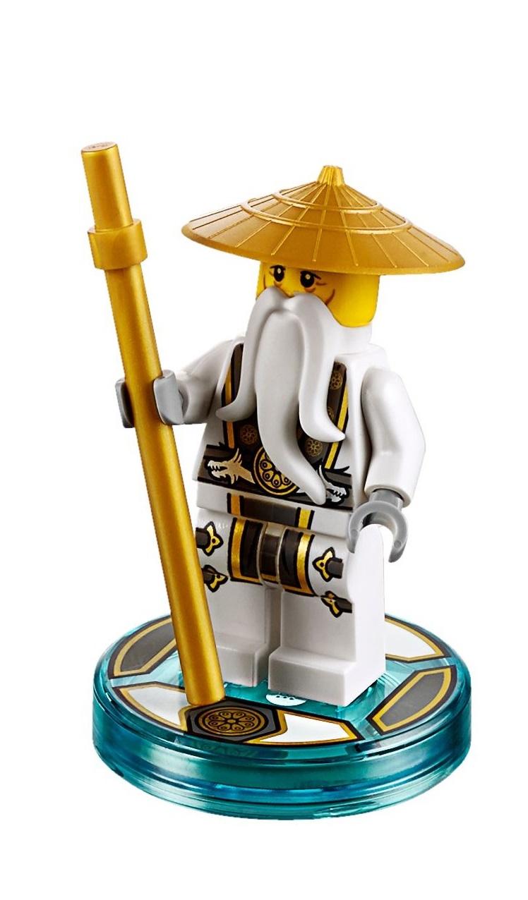 Lego njo142 dimensions ninjago master sensei wu minifigure - Sensei ninjago ...