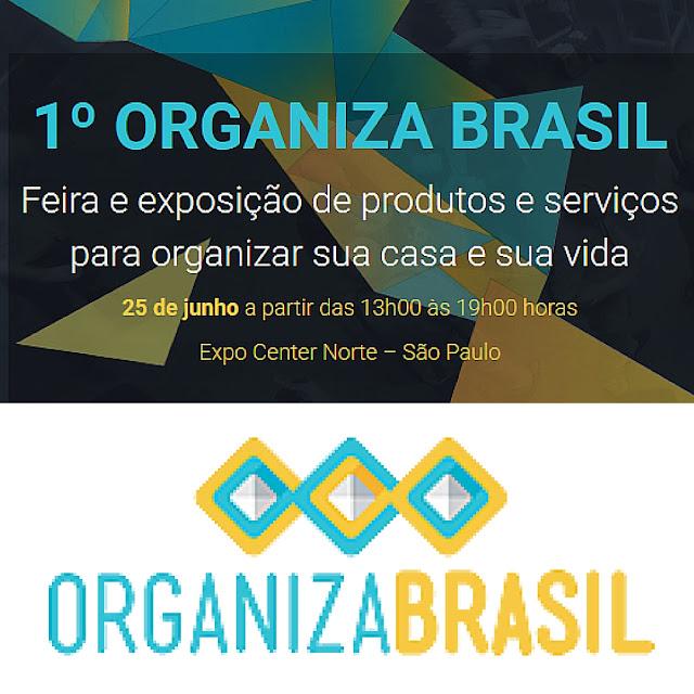 Divulgando a primeira feira Organiza Brasil