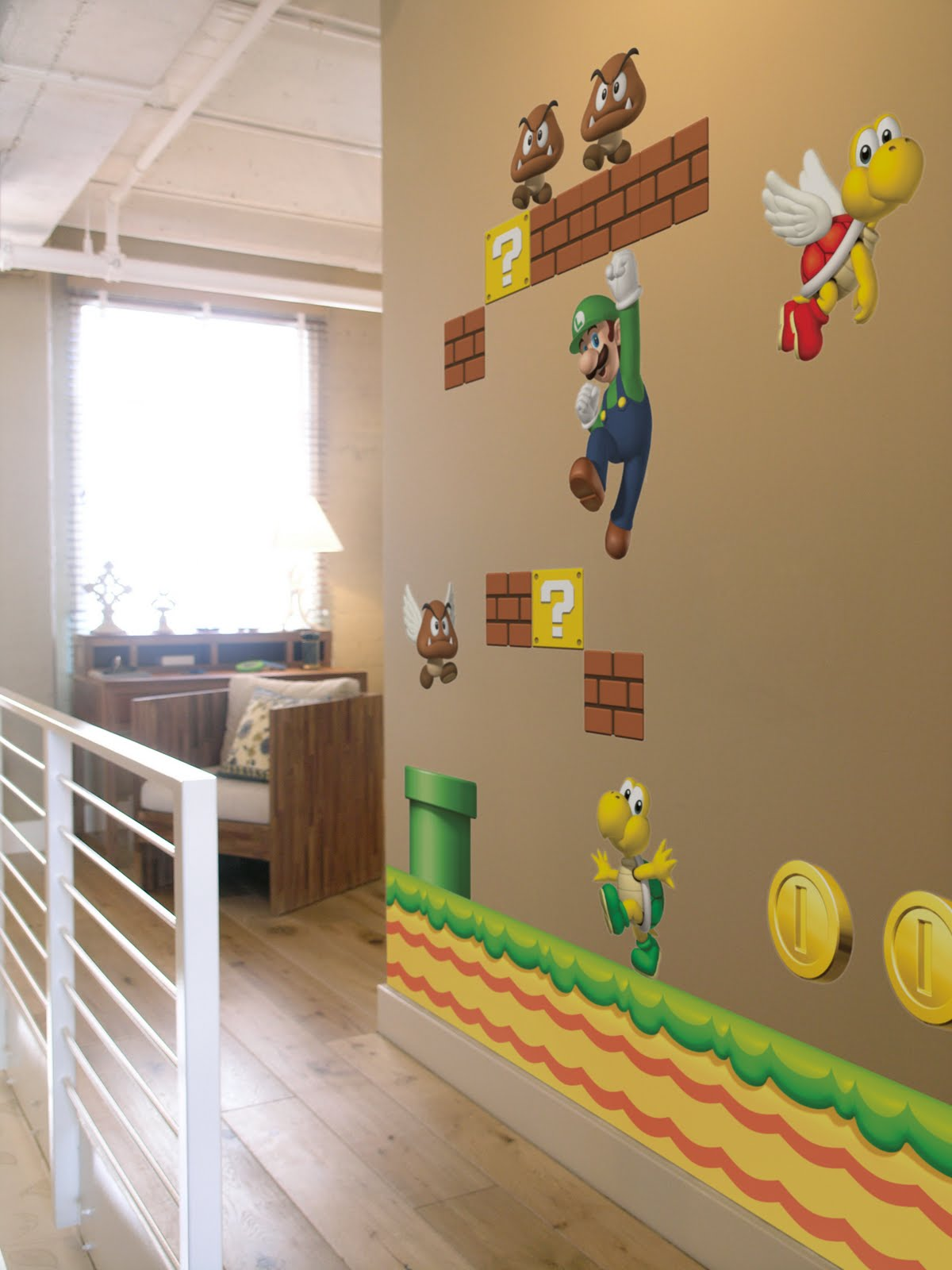 Domestic Sluttery Supernice Nintendo Wall Decals