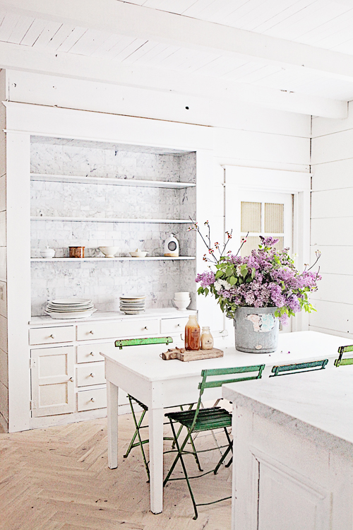 carrara marble subway tile built in makeover and dying easter eggs naturally