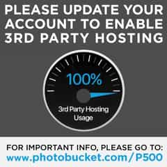 photobucket third party hosting