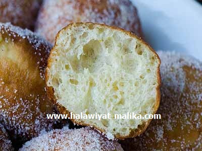 Beignets Italiens بنيي إيطالي  بالبطاطس ولا أروع