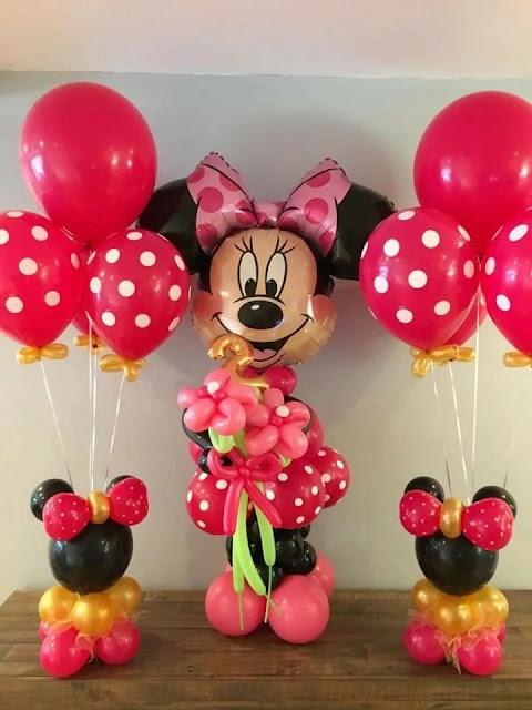 Minnie Vermelha Festa