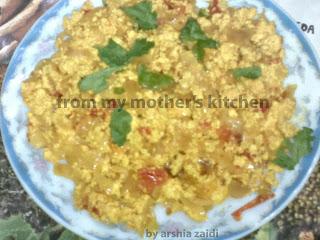 cheese recipe, paneer bhujia,  paneer dish, best Indian  veg recipe