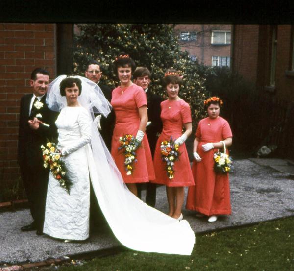 Family History Fun: Wedding Fashions - Part Two : Sepia Saturday 4