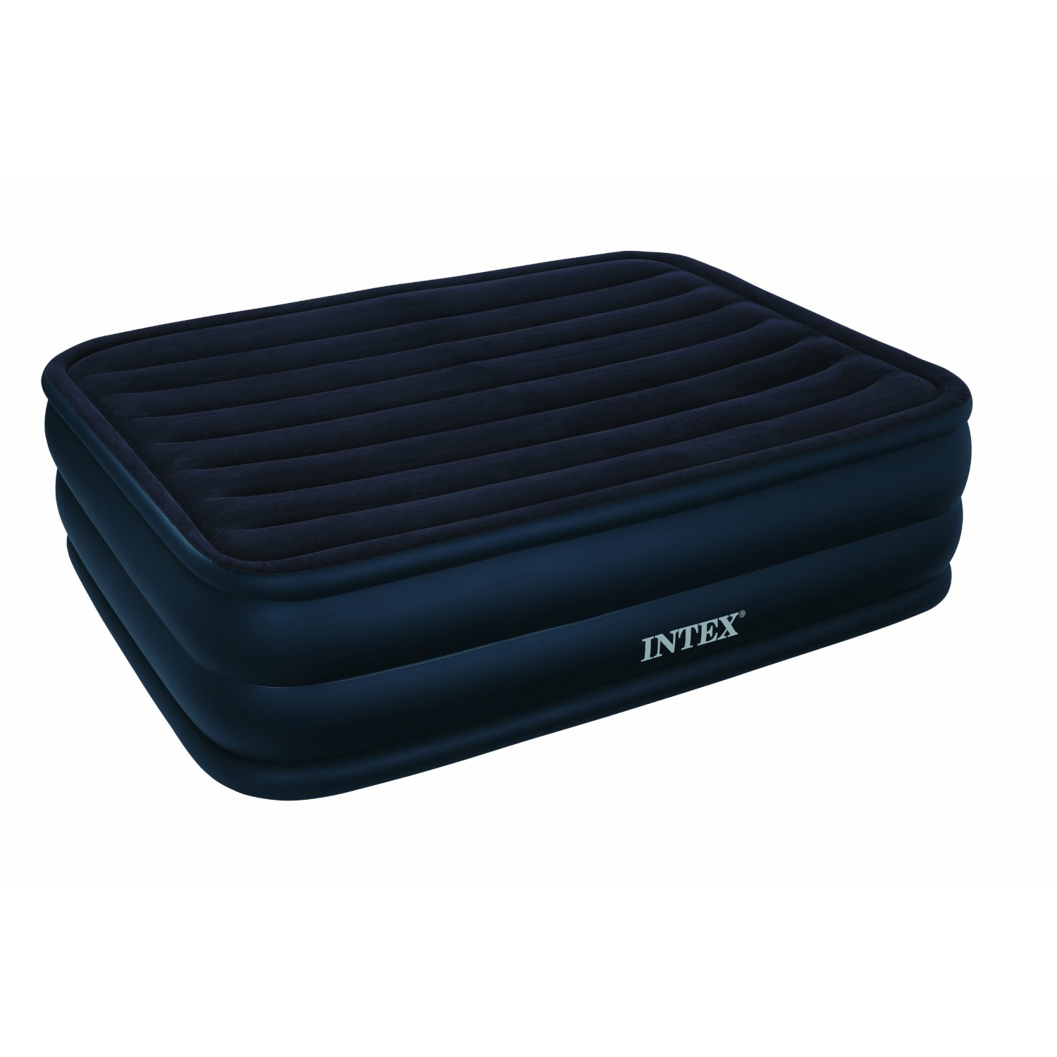 Intex Raised Downy Queen Airbed With Built In Electric