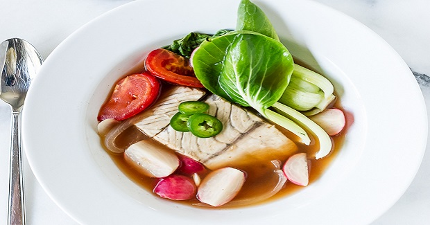 Barramundi Fish In Tamarind Broth | Sinigang Na Isda Recipe