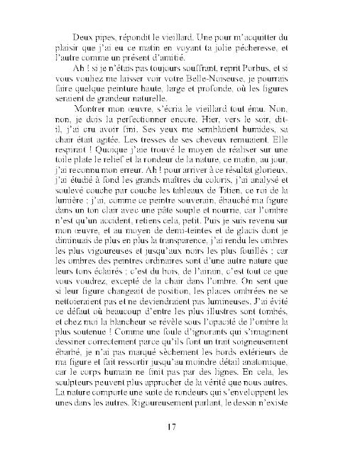 Le chef d'œuvre inconnu pdf Honoré de Balzac