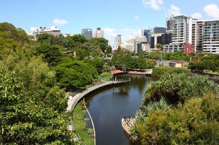 Roma Street Parkland, Brisbane