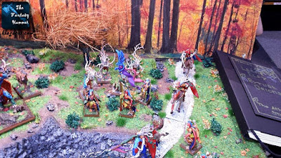 Wood Elves Wild Riders - Armies on Parade 2015
