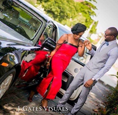 Geraldine Iheme, EX BBA discharges official prewedding pics