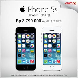 iPhone 5S Hanya Rp 3 jutaan