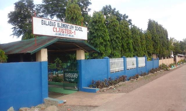 Balabag Elementary School SY 2016 - 2017