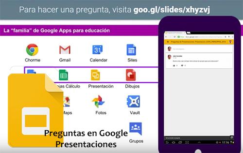 haz tus presentaciones más participativas con google innovación