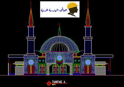 تصميم مساجد