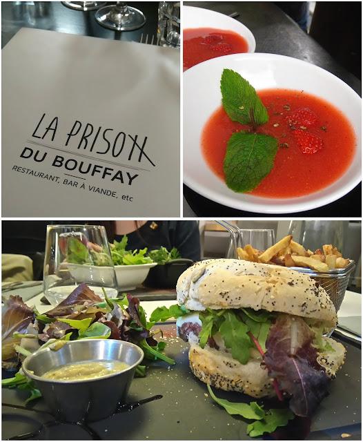 la prison du bouffay, soupe de fraise, my resto, burger, 2 potes au feu, restaurant, nantes, bullelodie