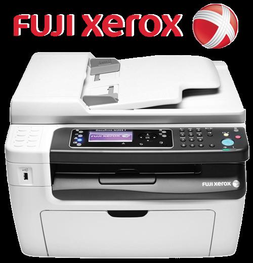 IT Adventure / Shopping Shop Computer: Fuji Xerox Docuprint M205F White