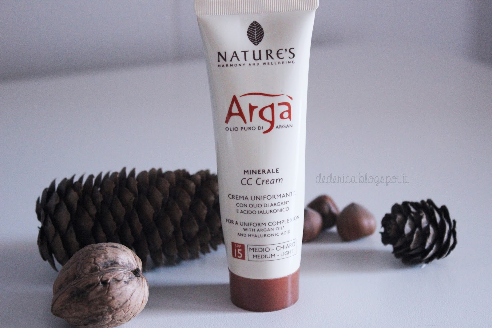 Nature's - Argà Argan Olio Puro di Argan CC Cream in Medium-Light
