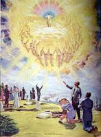 Beaucoup d'hommes peuvent apercevoir La Lumière-Divine. Mais Ils préfèrent la chair naturelle au trésor Supranaturel qui est caché au fond de leur cœur ! Trésor d'un Amour Eternel.