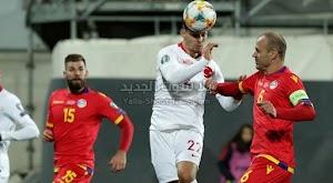 بهدفين بدون رد منتخب تركيا يحقق الفوز على منتخب اندورا في التصفيات المؤهلة ليورو 2020