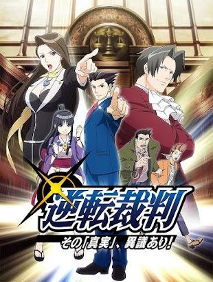 """تقرير انمي Gyakuten Saiban: Sono """"Shinjitsu"""", Igi Ari! (رايت العنقاء)"""