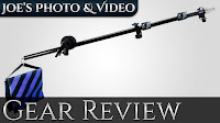 Neewer 30-75 Inch Aluminum Telescoping Photographic Boom Arm & Sandbag | Gear Review