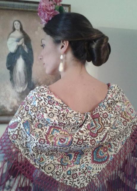 Resultado de imagen de mantoncillos de flamenca