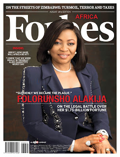Peace Hyde Exclusive Interview With Folorunsho Alkija For The August Edition Of Forbes Africa Magazine