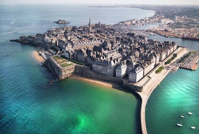 Saint-Malo, Brittany, Prancis