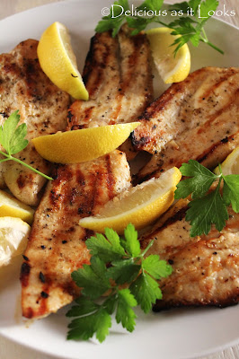 Greek Marinated Grilled Chicken  |  Delicious as it Looks
