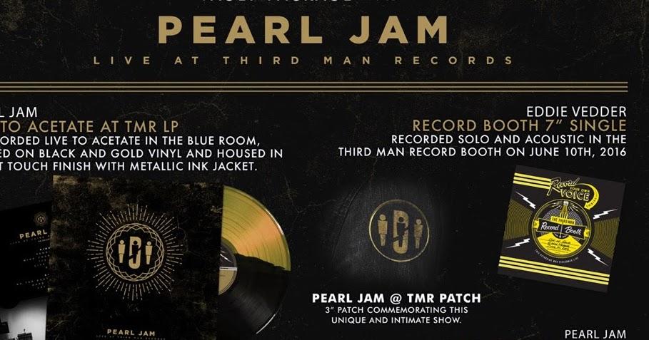 The Sky I Scrape Pearl Jam Live At Third Man Records