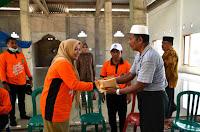 Bupati Bantu Rp50 Juta untuk Pembangunan Masjid An-Nur Desa Bugis Sape