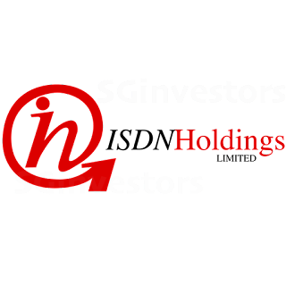 ISDN HOLDINGS LIMITED (I07.SI) @ SG investors.io