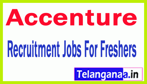 Accenture Recruitment Jobs For Freshers Apply