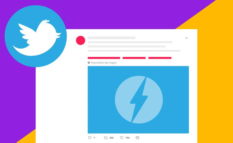 Cara Memasang Status Twitter Dan Foto atau Video Di Blog AMP