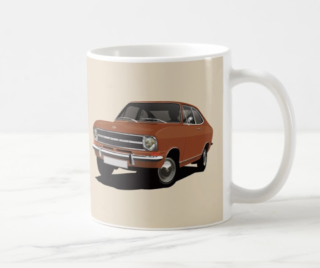 Opek Kadett B Coupé coffee mugs