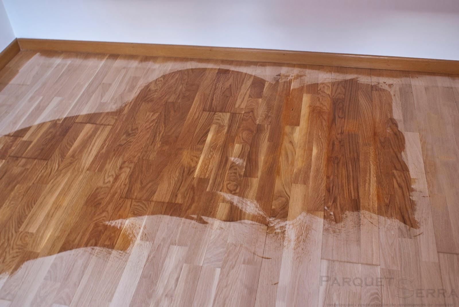 Acuchillar parquet barato - Como reparar piso de parquet rayado ...