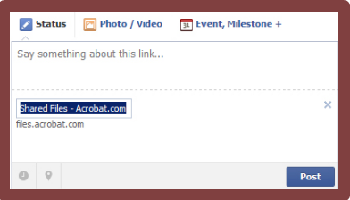 How To Upload Pdf To Facebook