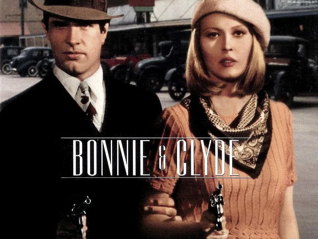 Bonnie And Clyde Movie Poster V-EFFEKT: Bonnie &...