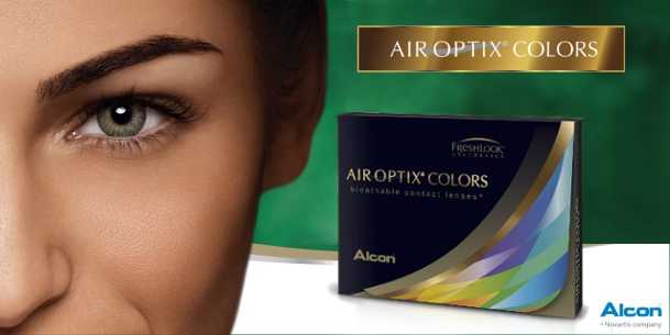 nuevas lentillas air optix colors de alcon