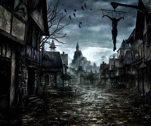 Dark Art Paintings Wallpapers