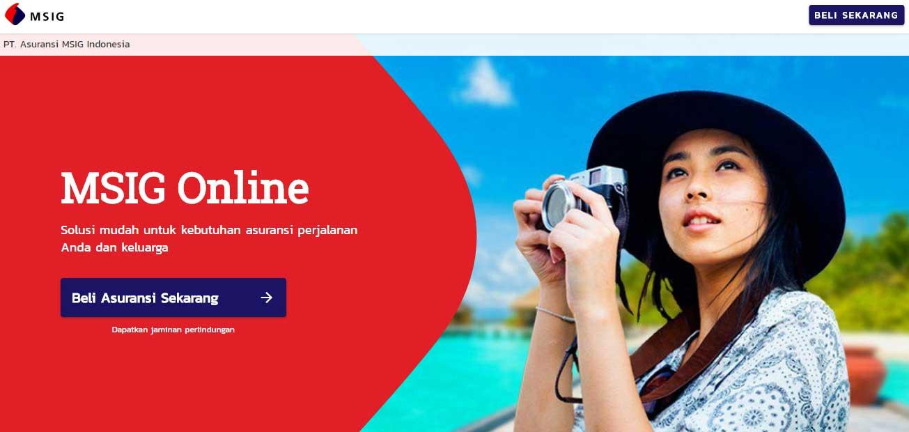Asuransi Perjalanan Online yang Bagus dan Murah Bersama MSIG