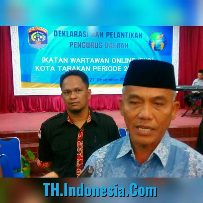 Walikota Tarakan Menyambut Baik Hadirnya IWO di Kalimantan Utara