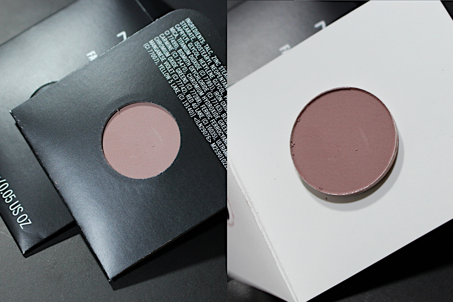 mac cosmetics eyeshadow refill swatches malt quarry espresso vanilla embark carbon beauty marked sable