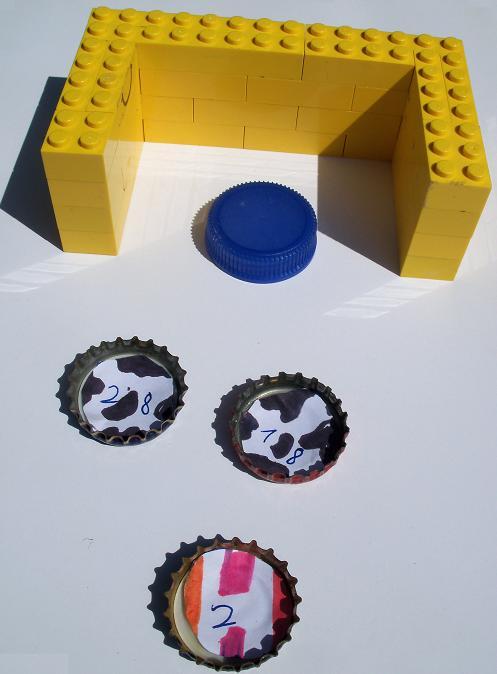 Top Kidissimo: Des jeux de société à fabriquer soi-même : du domino au  OG53