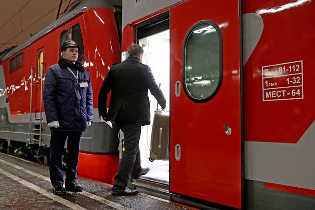 РЖД запустит в марте поезд выходного дня Москва - Брянск