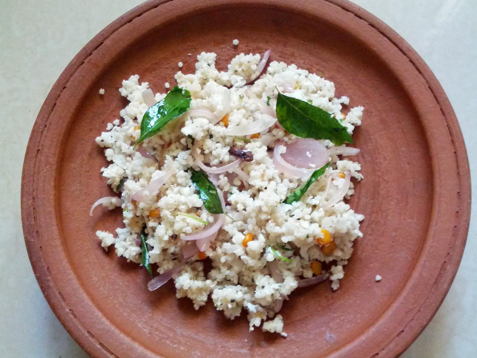 Barnyard millet Coconut rice